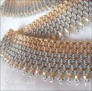 ae51de4fe5 Szürke és topáz hangulatok swarovski kristályokkal